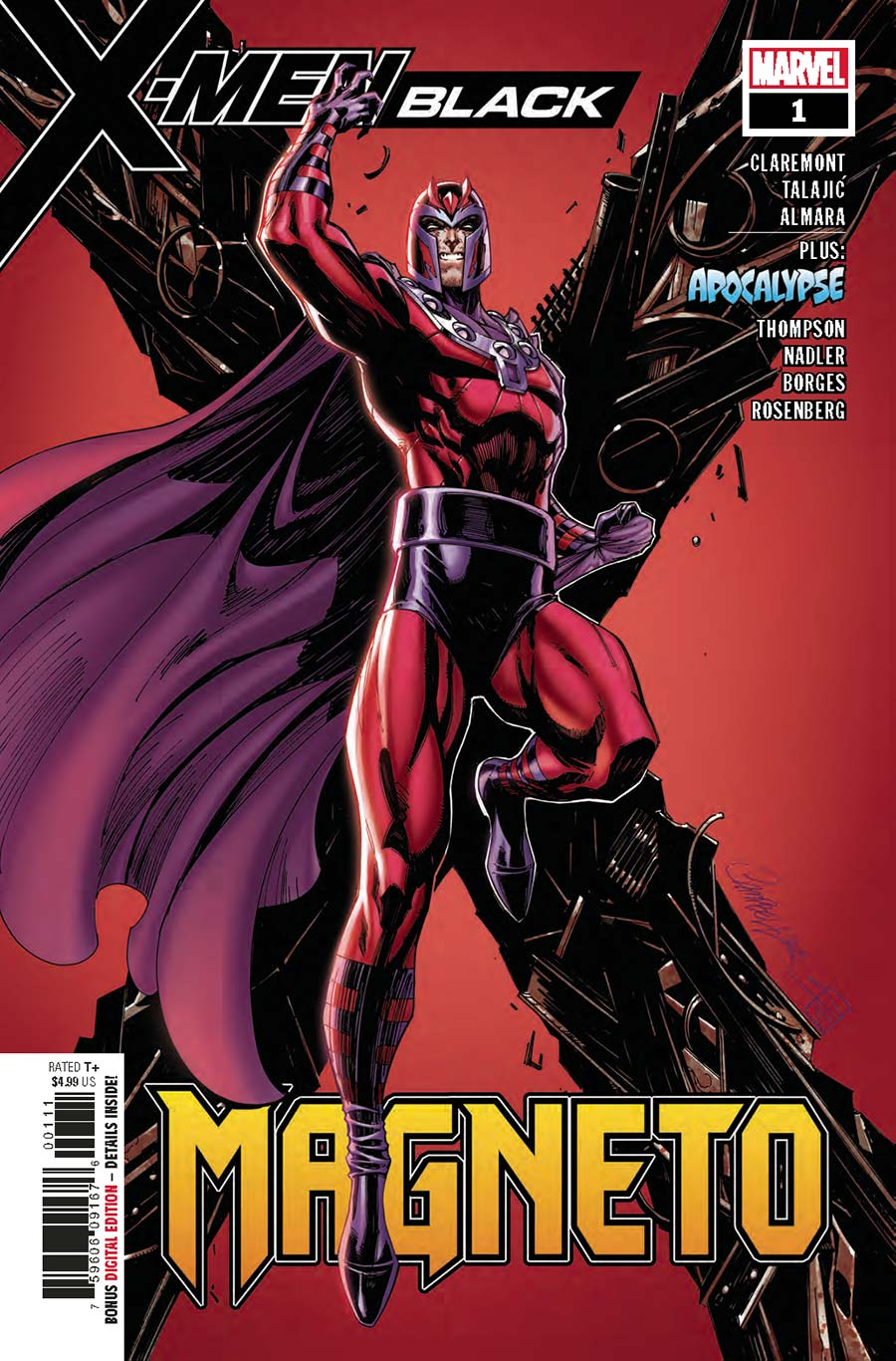 X-Men: Black - Magneto