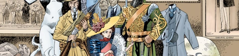 Top 100 Overrated Comics: 10. The League Of Extraordinary Gentlemen