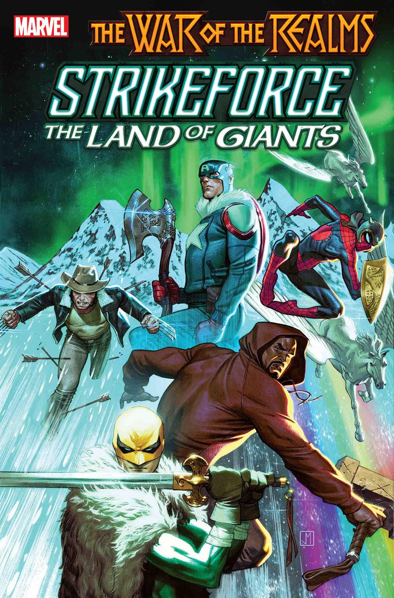 War Of The Realms Strikeforce: The Land Of Giants