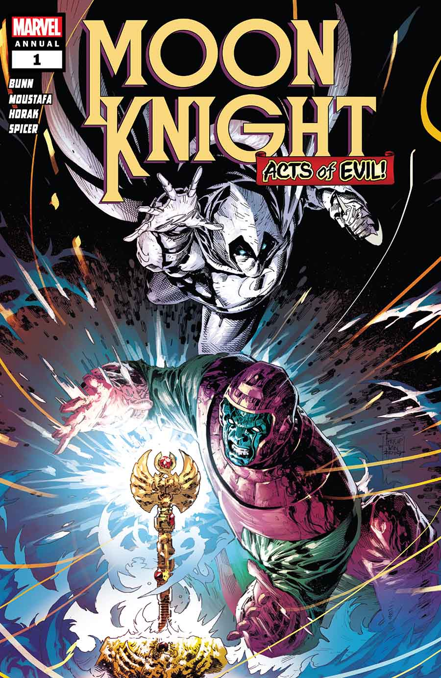 Acts Of Evil: Moon Knight Annual