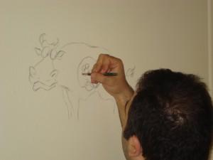 ...δεν γελάσαμε μόνο, ζωγραφίσαμε και τοίχους!