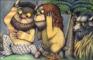 Where The Wild Things Are Interior Art #1