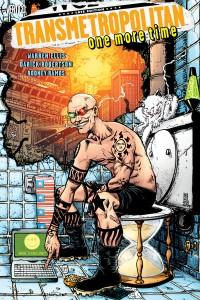 Transmetropolitan vol. 10 - Cover