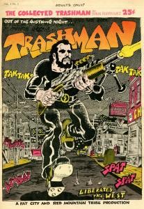 Το εξώφυλλο του THE COLLECTED TRASHMAN