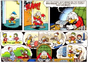scrooge regretting