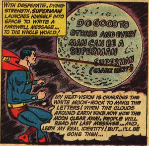 SUPERMAN156-message-on-the moon