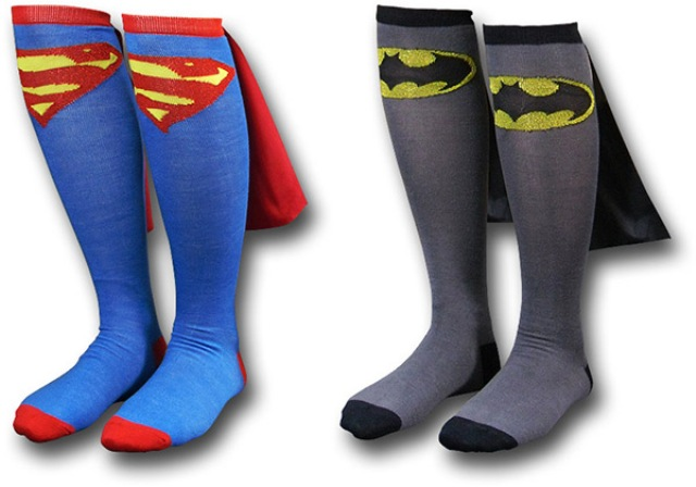 superman-batman-cape-socks