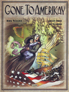 Gone to Amerikay HC - Cover