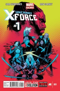 Uncanny X-Force 1