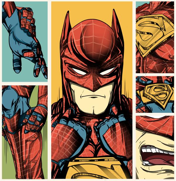 Super-Spider-Bat-Man