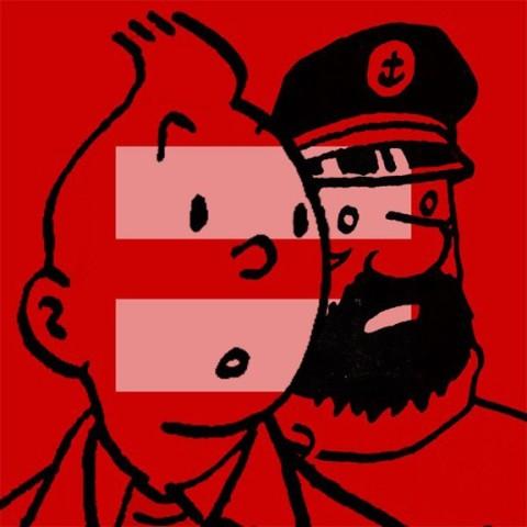tintin haddock gay equality marriage