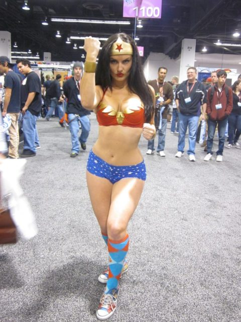 wonder woman cospaly