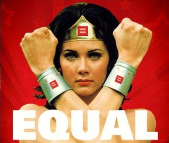 wonder woman gay marriage rights