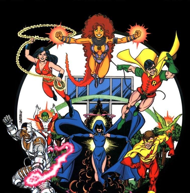 perez-New-Teen-Titans