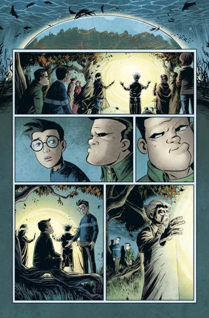 Unwritten-Fables crossover