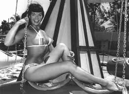 BETTIE PAGE PIN-UP