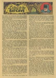 Batman #169 Feb '65 - letter column mentioning Bill Finger 1 (created Riddler)