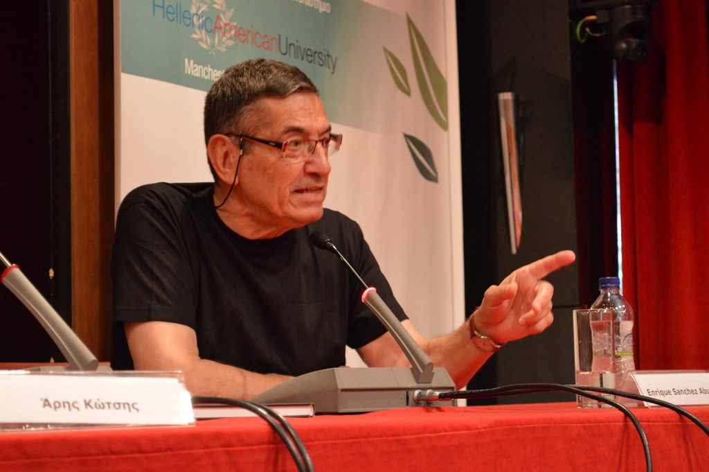 Enrique Sánchez Abuli. Ένας θρύλος των ευρωπαικών comics απαντά στις ερωτήσεις του κοινού.