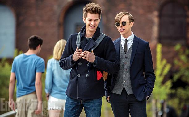 Osborn and Parker Amazing Spider-Man 2