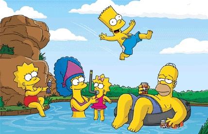 beach-simpsons