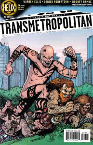 Transmetropolitan #9 - Cover