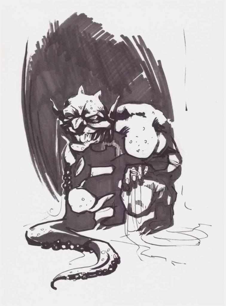 Ο τρομαχτικός Τρικλοπόδης της απίθανης Δανάης Κηλαηδόνη