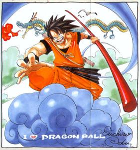 Φόρος τιμής του Eiichiro Oda στο αγαπημένο του manga.