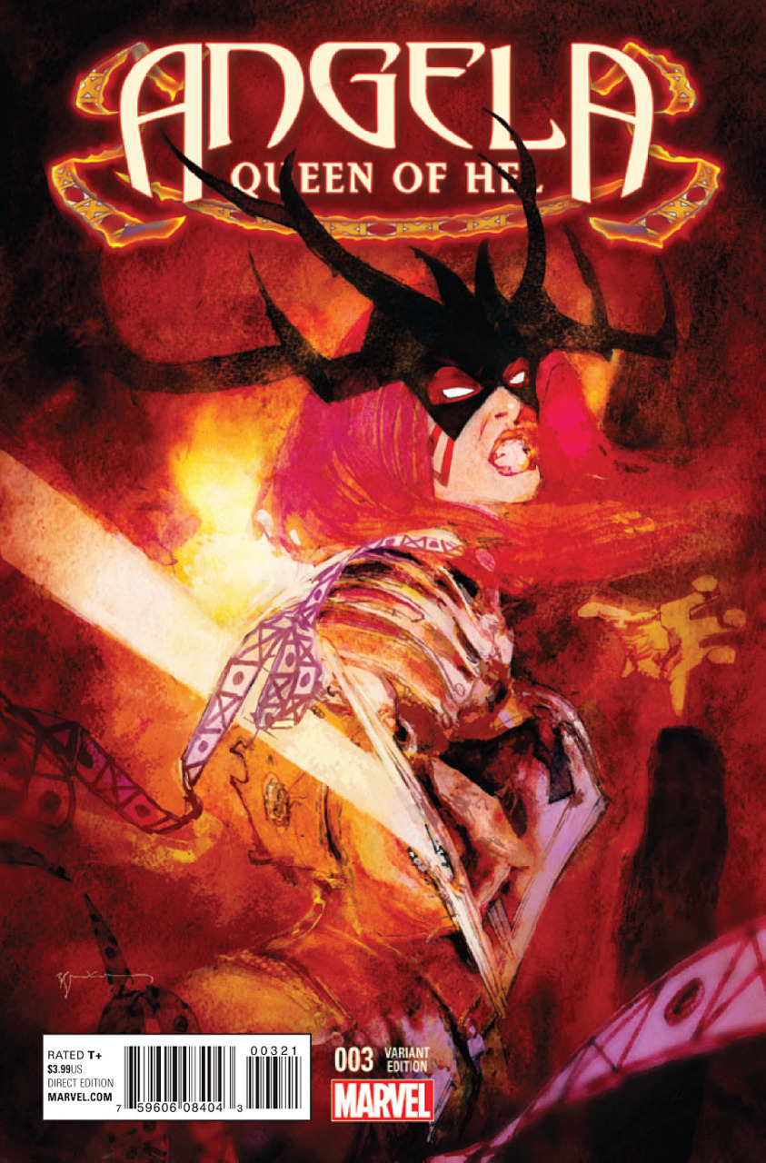 Angela: Queen of Hel