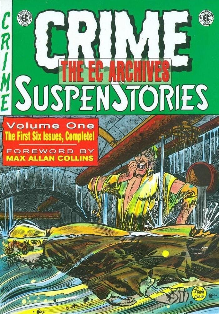 ΕC Archives: Crime SuspenStories