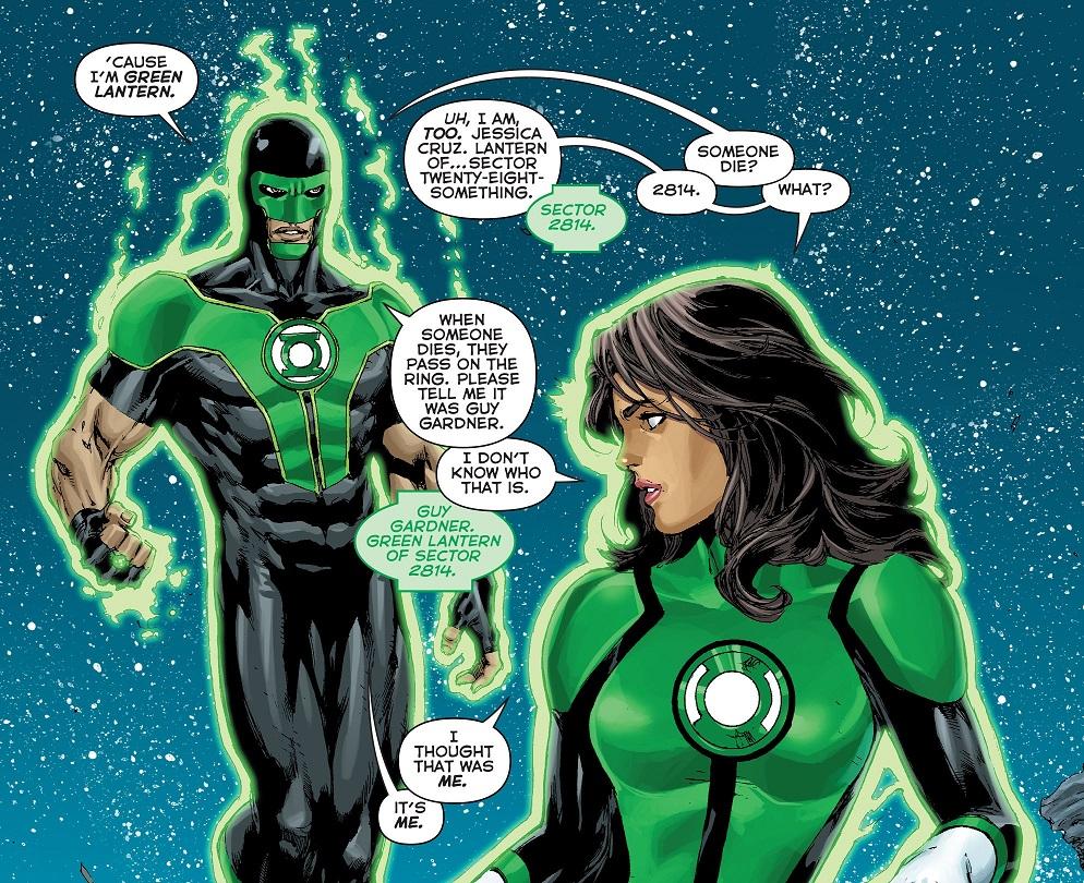 Green Lanterns - Rebirth (2016) 001-011