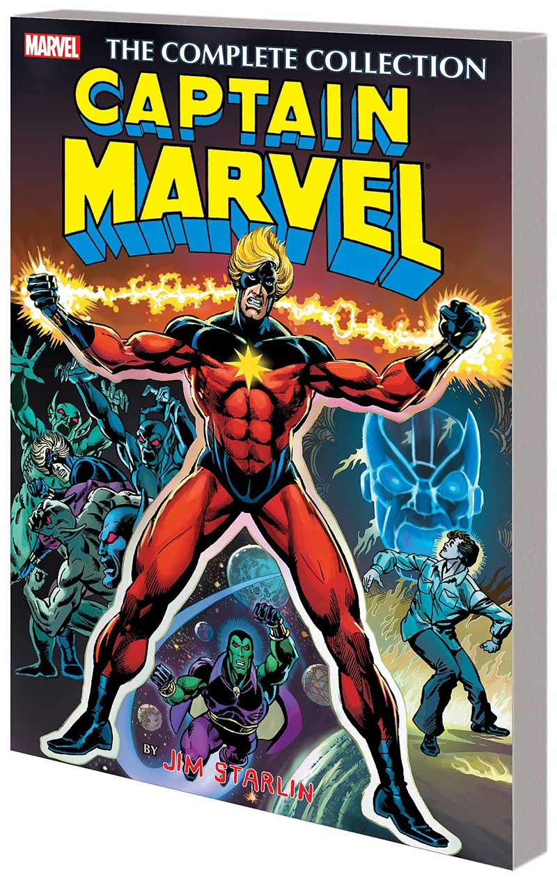Captain Marvel by Jim Starlin Complete Collection