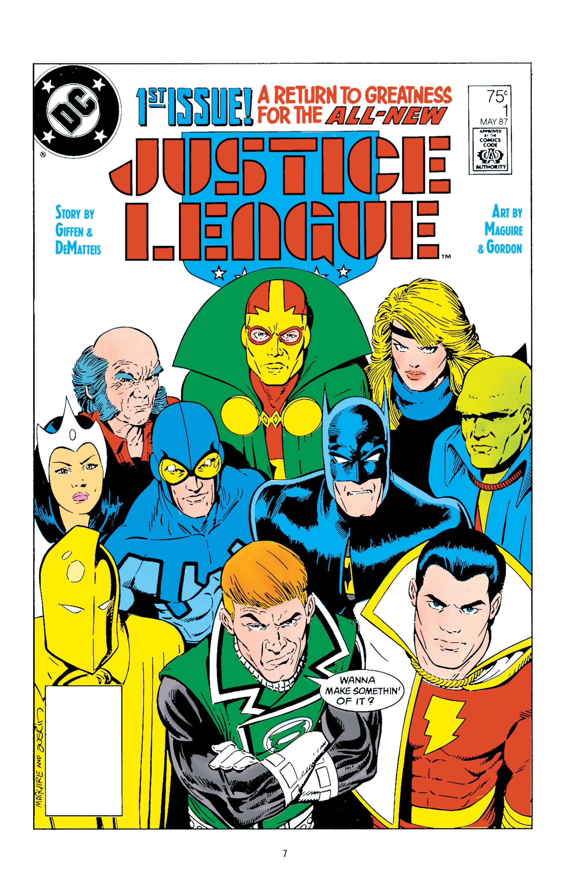 Justice League (Giffen/DeMatteis)