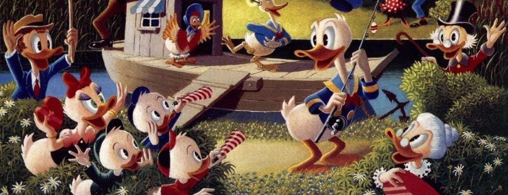 Disney Ducks At Athens Comics Library