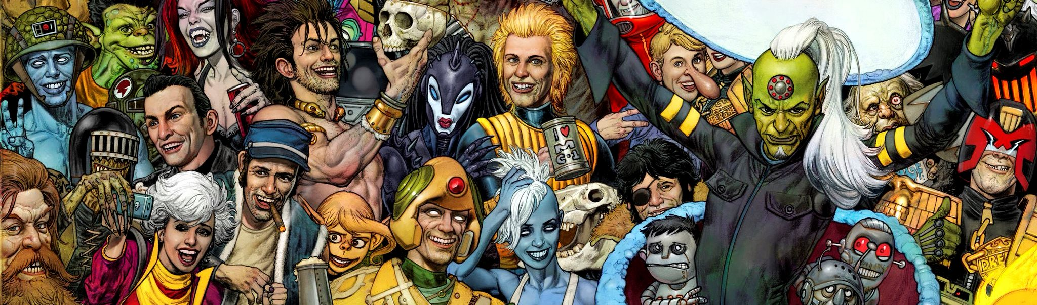 Top 10 2000AD