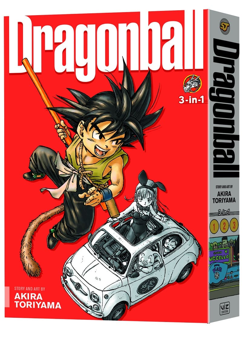 Dragon Ball 3-In-1 Editions