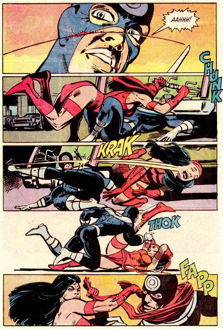 Bullseye vs. Elektra (Daredevil #181)