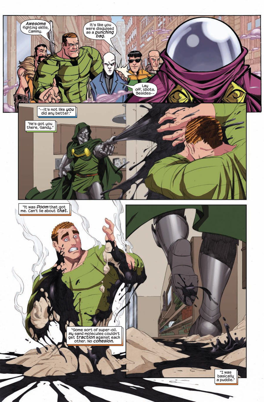 Doctor Doom vs. The Sinister Six (Doctor Doom And The Masters Of Evil #1)