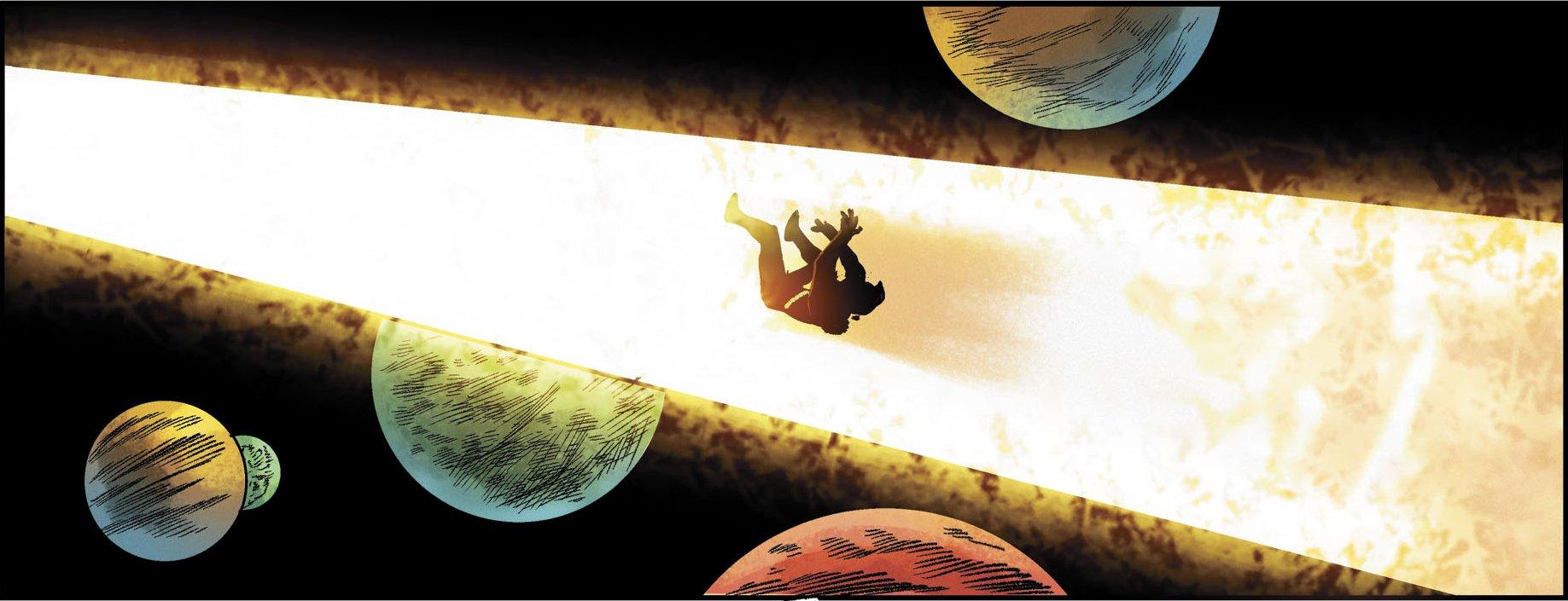 Adam Strange Future Quest Annual 1