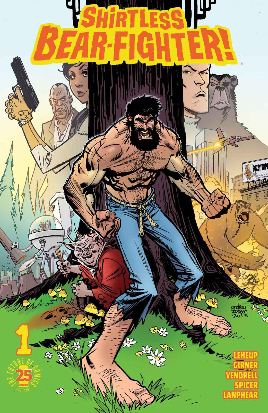 Shirtless Bear-Fighter