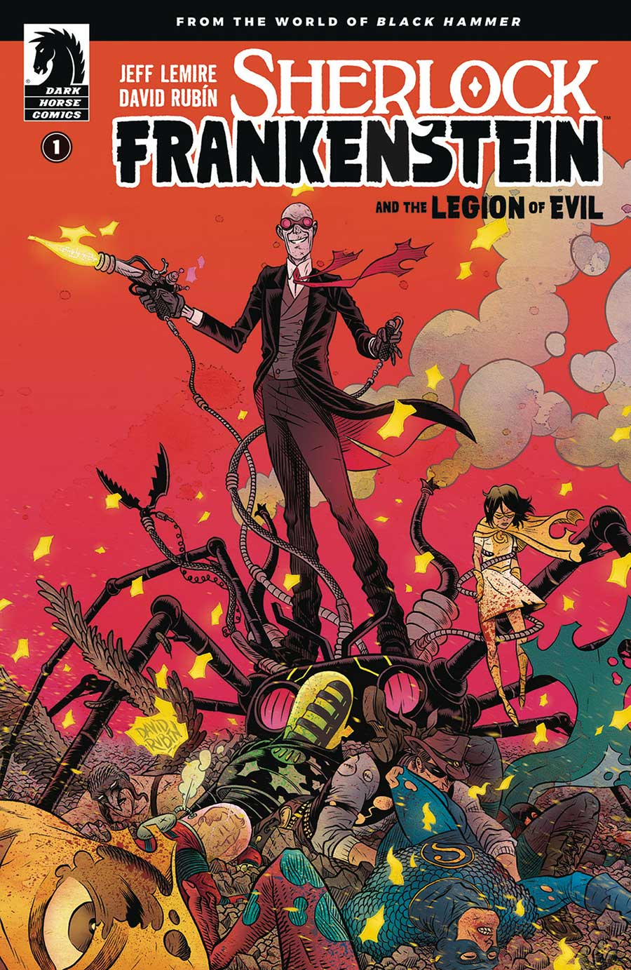 Sherlock Frankenstein & Legion Of Evil