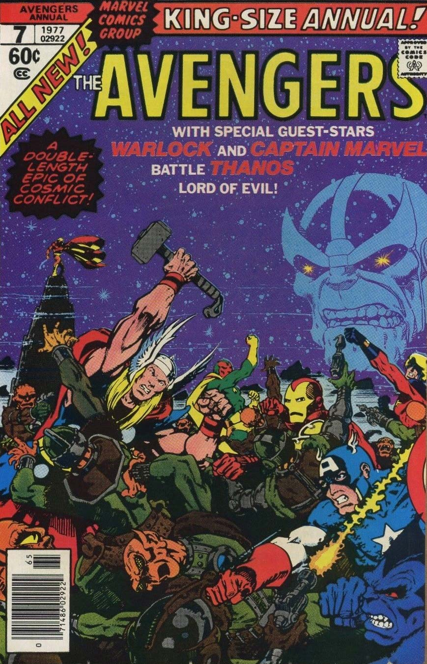 Avengers Annual #7 & Marvel Two-In-One Annual #2