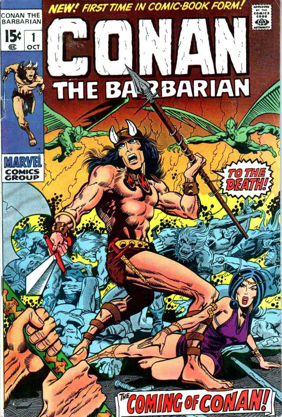 Conan The Barbarian (Barry Windsor-Smith)