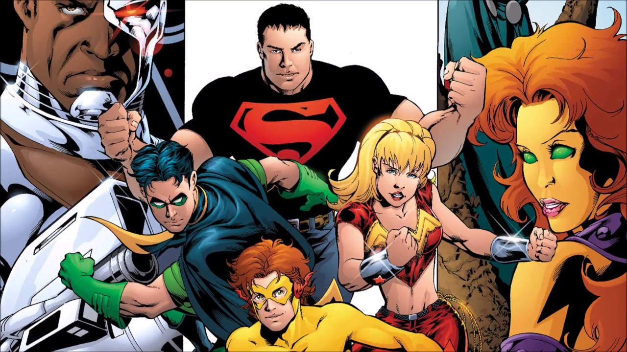 Geoff Johns Teen Titans
