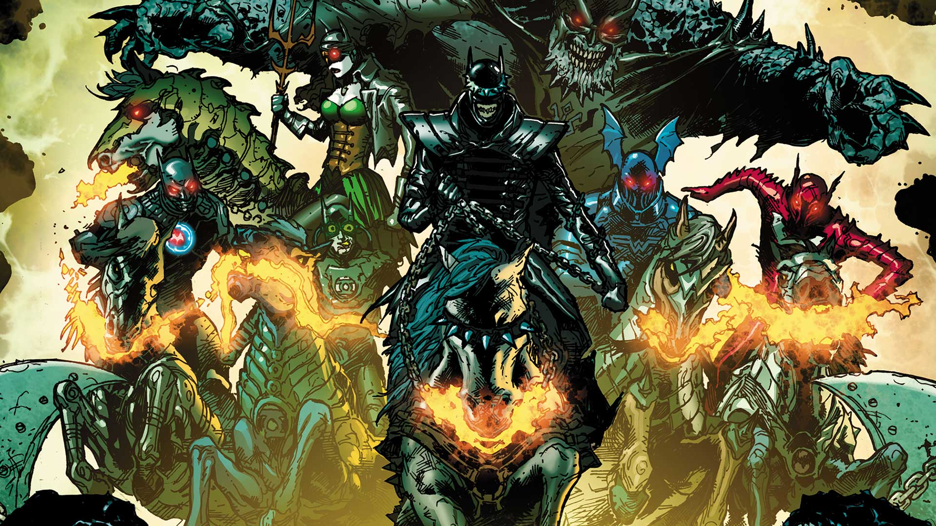 dark knights rising: the wild hunt