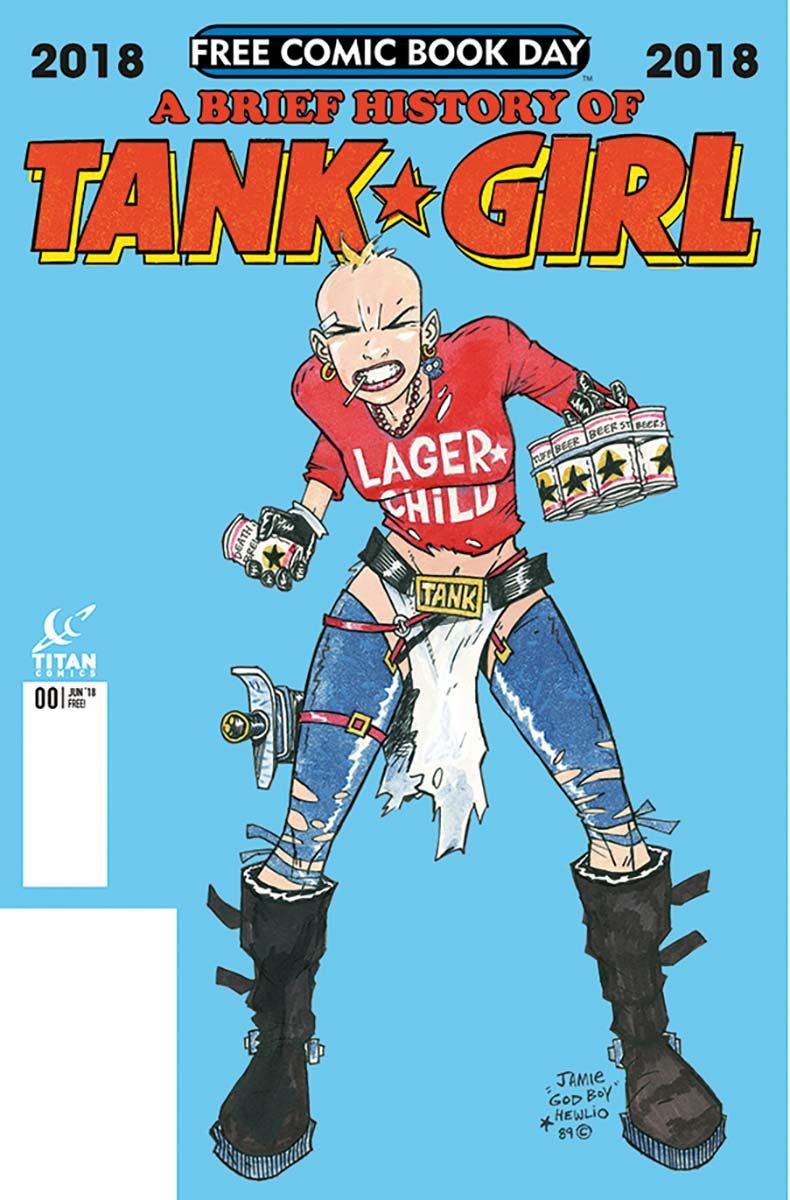 A Brief History Of Tank Girl