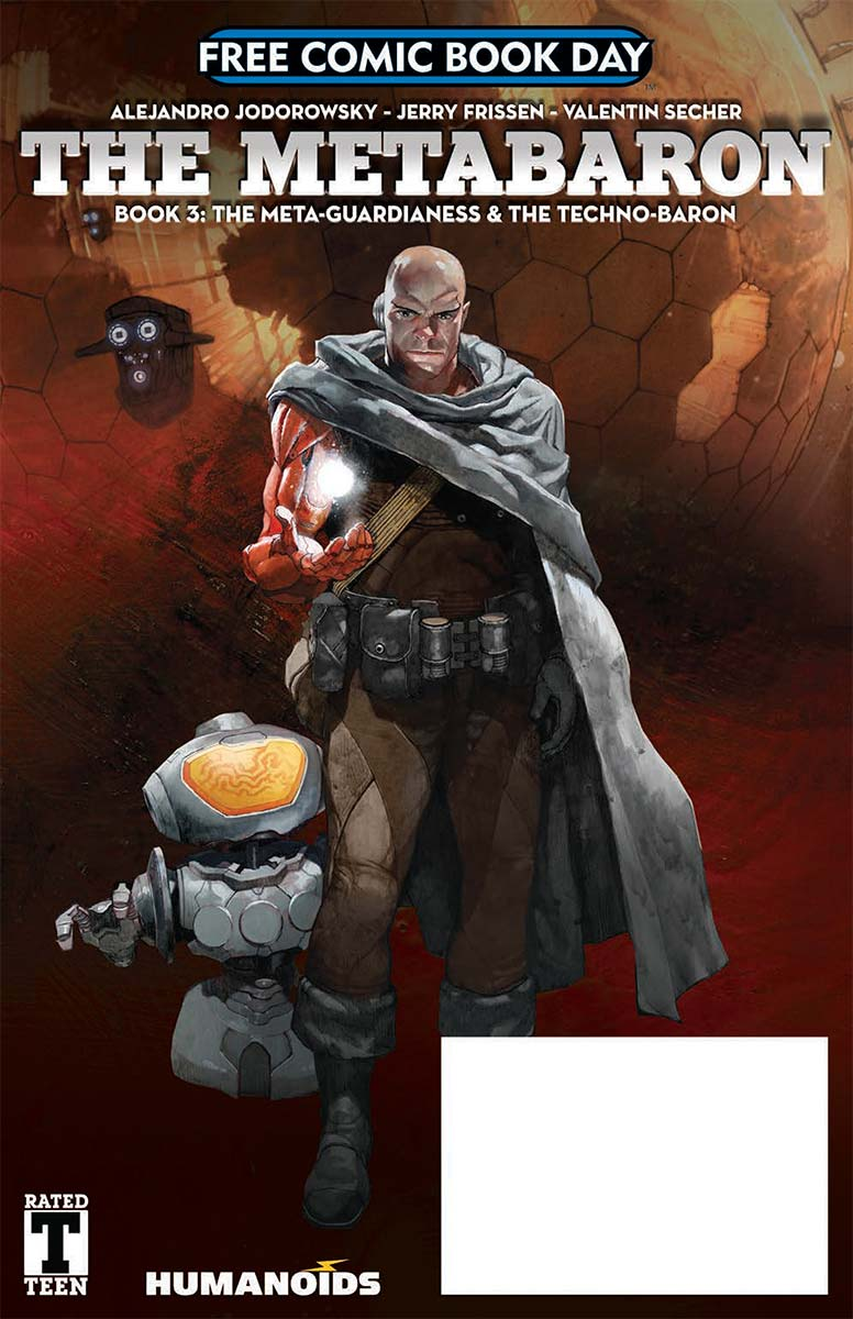The Metabaron Book 3: The Meta-Guardianess & The Techno-Baron