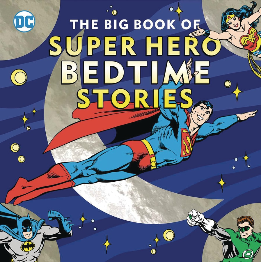 Big Book Super Hero Bedtime Stories HC