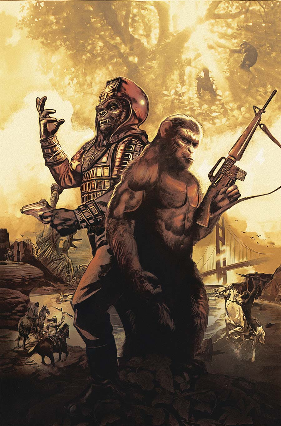 Planet Of Apes: The Simian Age