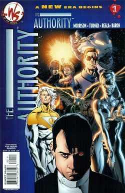 Comicdom Files: The Authority Robbie Morrison