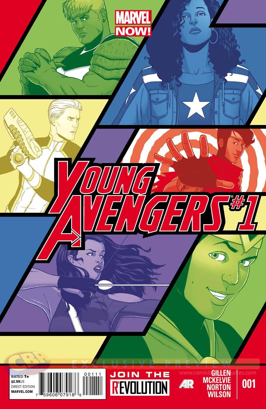 Young Avengers (Kieron Gillen)